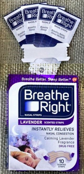 2 FREE Breathe Right Lavender or Extra Clear Nasal Strips Sample (Newsletter Sign Up Required) [Verified Received By Mail]
