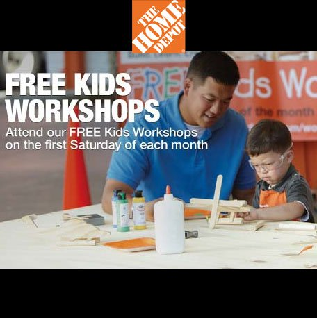 FREE Valentines Wooden Mailbox & Painting Workshop For Kids At The Home Depot On Sat. Feb 9th From 9AM To 12PM