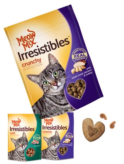 FREE 3oz Meow Mix Irresistibles Treats Coupon Mailed Upon Joining Meow Mix Acatemy