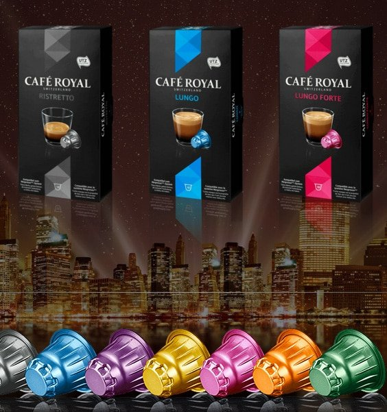 FREE Nespresso Sample Box From Café Royal Switzerland