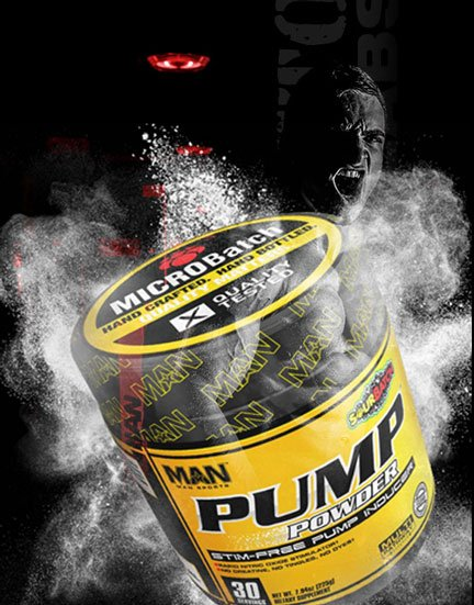 FREE Pump Powder Stimulant-Free Pre-Workout Supplement Sample From MAN Sports (Newsletter Sign Up Required)