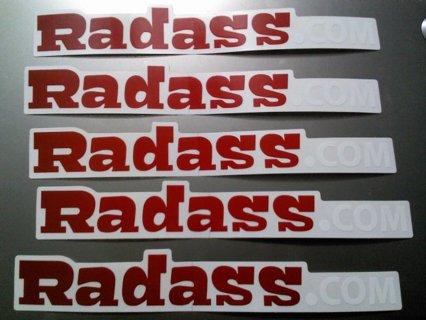 FREE Radass Stickers For US/Canada (Pardon My French…)
