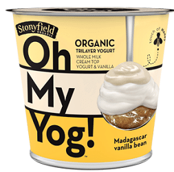 2 FREE Stonyfield Oh My Yog! Yogurt at Target Using Stacked Coupon