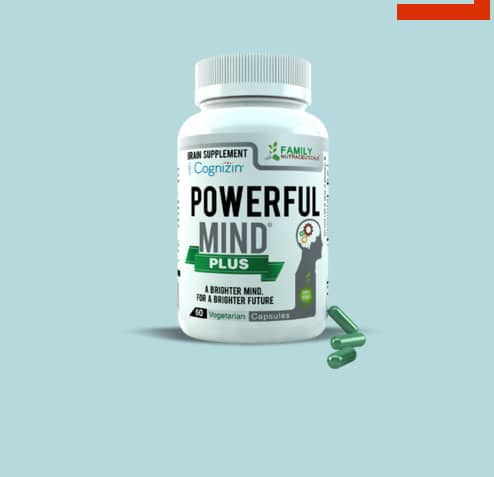 FREE Powerful Mind Plus Healthy Brain Enhancing Supplement Sample