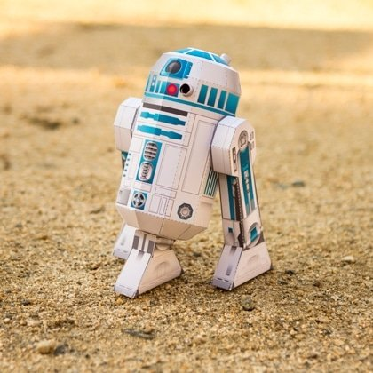 photo relating to R2d2 Printable named Cost-free Star Wars R2-D2 Printable Papercraft Against Disney - Yo
