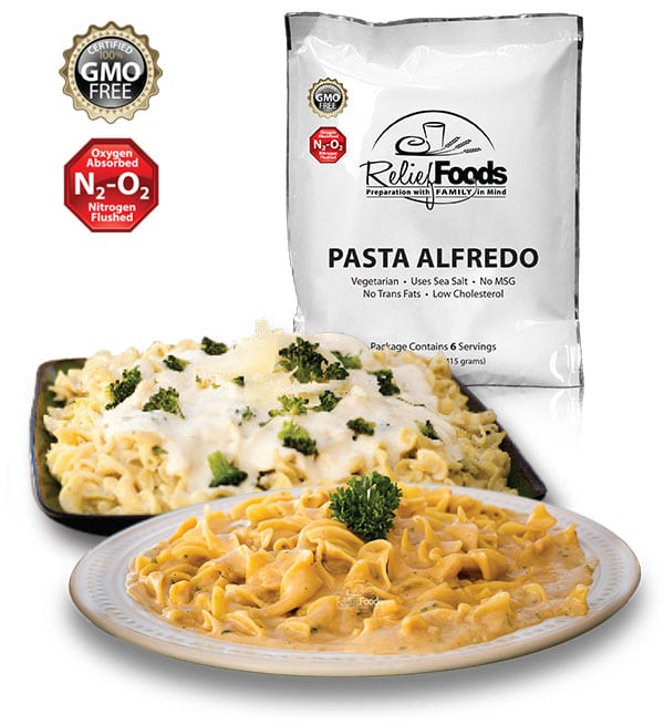 FREE 6 Serving Emergency Family Food Supply Sample From Relief ...