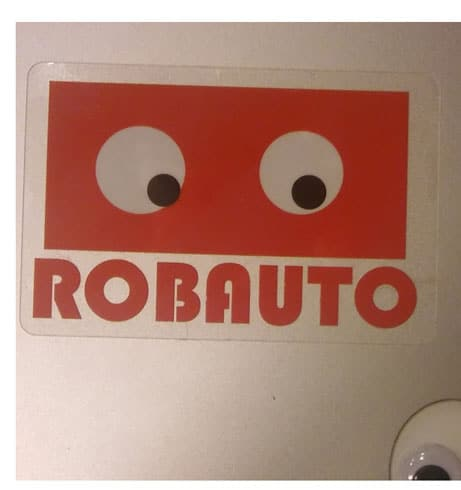 FREE Robauto Robot Sticker From Bibli Kickstarter Team