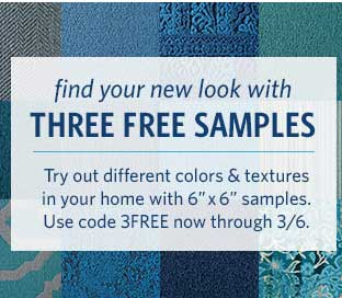 "FREE 3 Floor Samples With Offer Code ""3Free"" Though 3/6 From Flor.com"