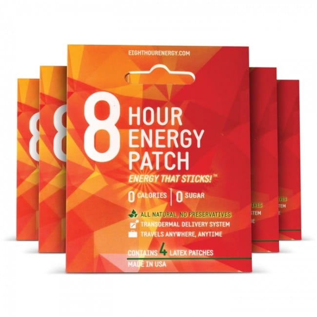 Nearly FREE 8 Hour Energy Patch Trial Sample ($1.75 Shipping Added)