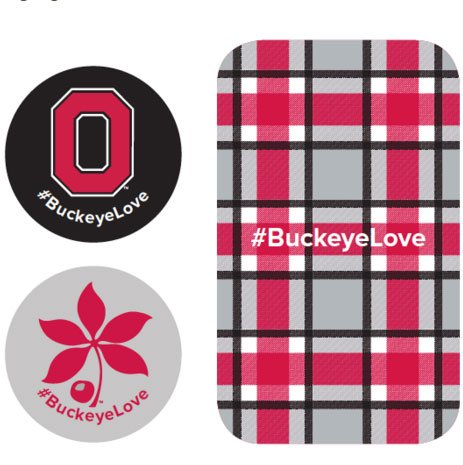 "FREE Ohio State ""Tech Tattoo"" for Valentine's Day"