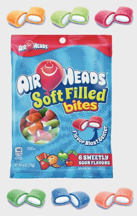 FREE Airheads Soft Filled Bites Sample From AICP Corp