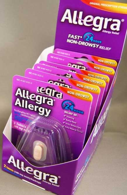 FREE Allegra Allergy 24-Hour Product Samples (US Health Professionals Only, License # Required)