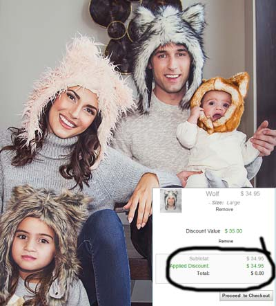 Almost FREE Faux Fur Animal Hat (Must Pay Shipping)