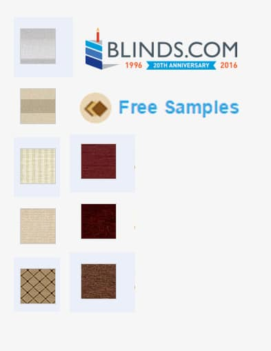 FREE Classic Traditions 10 Swatch Sample Pack From Blinds.com