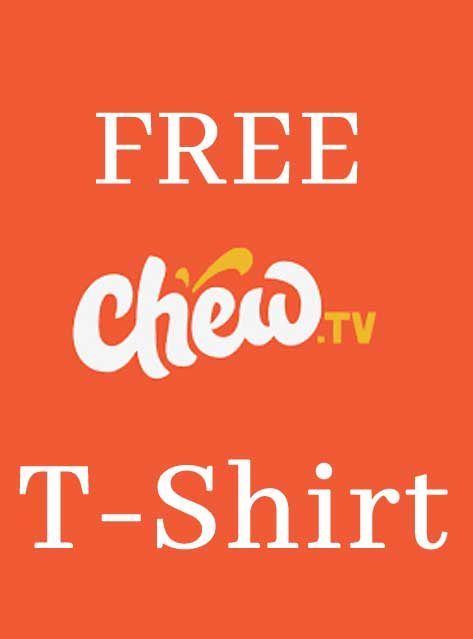 FREE Chew T-Shirt (Follow, Like, Comment, Share Required)