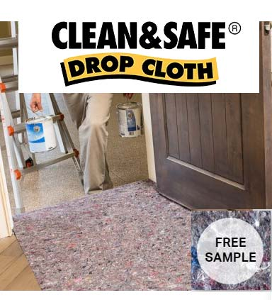 FREE Clean&Safe Pro And SurfacePro Drop Cloth Samples (Company Name Required)