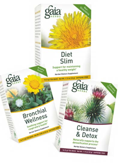 FREE Gaia Herbal Tea Sample (Survey Required)