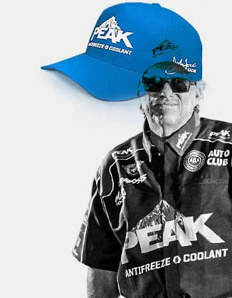 FREE High-Octane Head Gear Peak John Force Racing Hat (Company Name Required)
