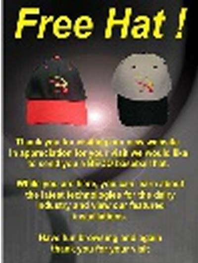 FREE Beco Baseball Hat (Company Name Required)