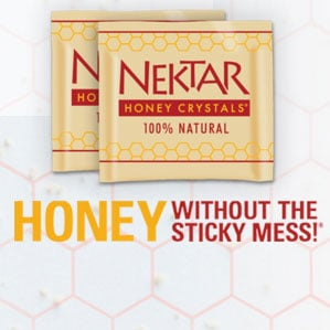 FREE Nektar Naturals Valentine's Day Honey Crystals Sample Packets