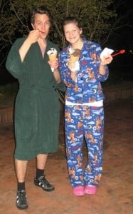FREE Small Waffle Cone On March 5th If You Wear Your PJs From Bruster's Ice Cream