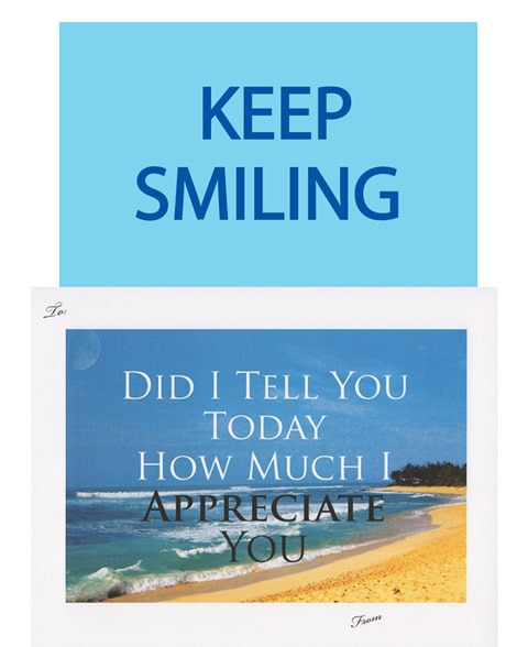 "FREE ""Keep Smiling"" Cards Available In 21 Languages & Free Shipping For US"