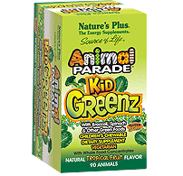 FREE Nature's Plus Animal Parade KidGreenz Children's Chewables Sample