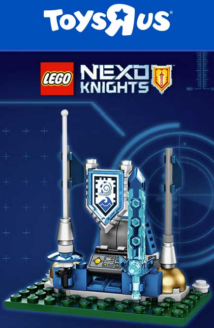 FREE LEGO Nexo Knights Shield Dock At Toys R Us