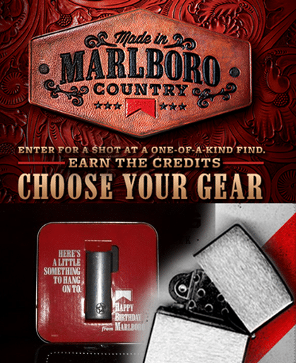 Sign up for marlboro coupons