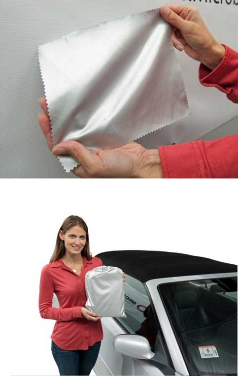 FREE Microbead Car Cover Fabric Select-Fit & Select-Fleece Sample (3 Question Survey Required)