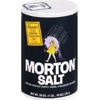 FREE Morton Plain Or Iodized Table Salt (SavingStar Required)