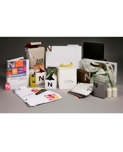 4 FREE Packaging 5-Sheet Samples From Neenah Paper