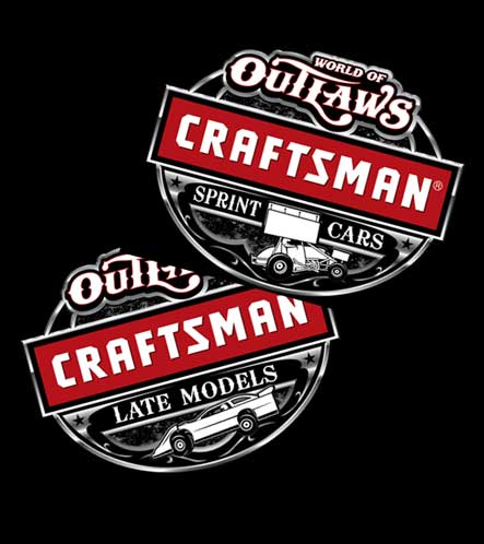FREE World of Outlaws Decal From Craftsman