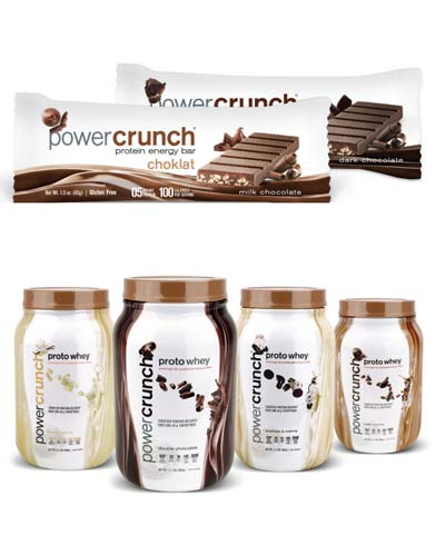 FREE Power Crunch Healthy Chocolate Or Vanilla Energy Bar, Drink & Whey Protein Samples