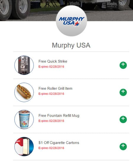 FREE Quick Strike, Roller Grill Item, Fountain Refill Mug At Murphy USA Locations (Redeem In Store)