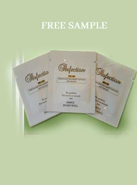 FREE Perfection HD-30 Anti-Wrinkle Cream Sample Packet