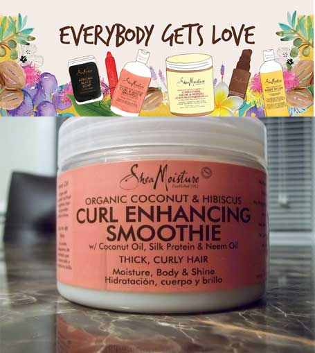 FREE Shea Moisture Coconut & Hibiscus Curl Enhancing Smoothie Haircare Dual-Sample Packet (Facebook Required)