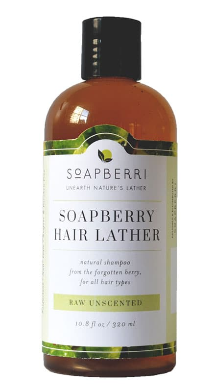 FREE Soapberri Natural Lather Hair & Body Wash Bottle