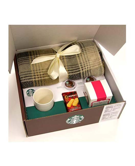 Win A FREE Starbucks Cozy Collection Package With Hot Cocoa