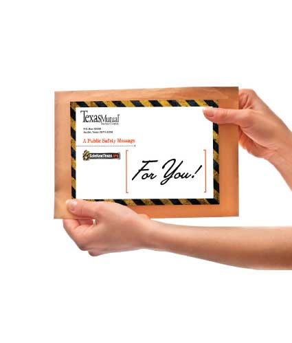 FREE Safe Hand Posters, Static Clings, Flyers, Brochures & Key Chain From Texas Mutual Insurance Company