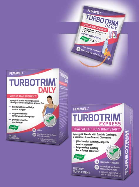 FREE 2 TurboTrim Express & 1 TurboTrim Daily Full-Size Supplement Sample Packs
