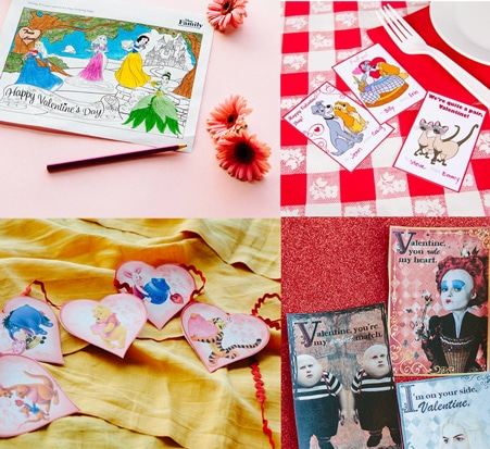 FREE Valentine's Day Printables For Kids From Disney