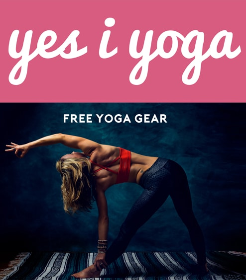 LAST DAY > FREE Yoga Leggings, Mat, Clothing From Yes I Yoga (Sharing + Referring Required)