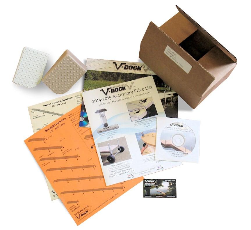 FREE DVD, Brochure, Decking Samples From V-Dock