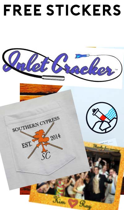 4 FREE Stickers Today: Magnificent Magnets, Southern Cypress Clothing Sticker, Petoskey Sticker & Inlet Cracker Decal