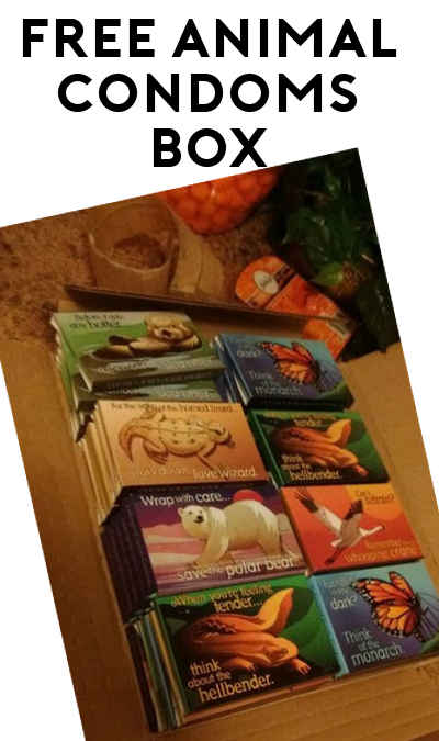 40 FREE Endangered Species Condoms Box [Verified Received By Mail]