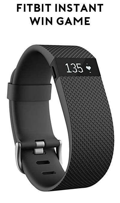 Win A FREE Fitbit Charge HR From Amazon.com Instant Giveaway (Twitter & Amazon Required)
