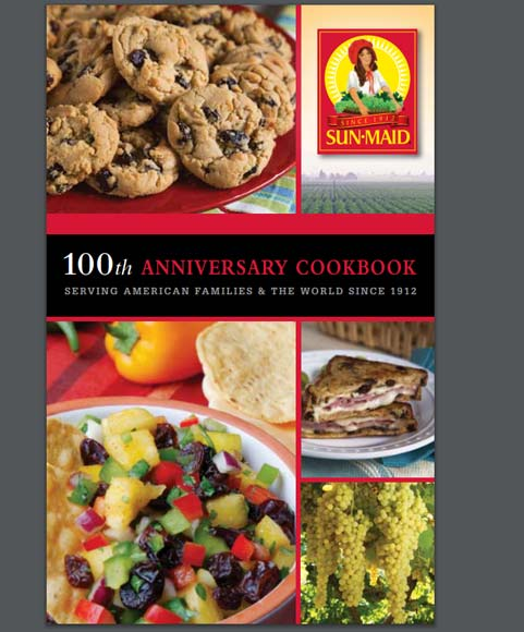 FREE Sun-Maid Healthy Living Recipe Booklet Mailed Or PDF Version