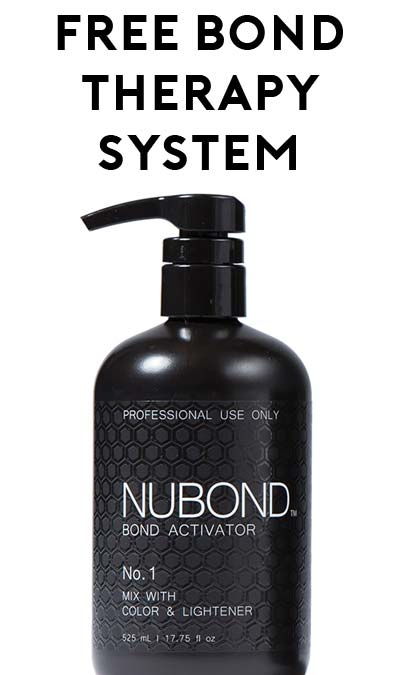 FREE NUBOND Bond Therapy System (Salon/Company Name Required)
