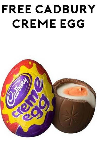 FREE Cadbury Créme Egg After Rebate